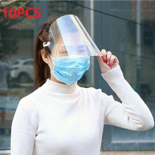 10x Full Face Covering Anti-Splash Fog Safety Shield Mask Glasses Eye Protector