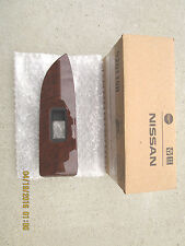 09 - 12 NISSAN MURANO LE SV SL S REAR LEFT POWER WINDOW SWITCH BEZEL TRIM NEW