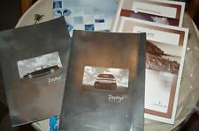 2006 LINCOLN ZEPHYR OWNERS MANUAL PACKET SET & NAVIGATION SYSTEM BOOK