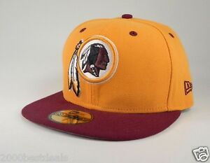 d542a185 Details about New Era 59Fifty Cap Mens NFL Washington Redskins 2 Tone  Custom Fitted 5950 Hat