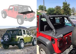 Bestop 41829-35 Black Diamond Cargo Cover for 2007-2017 Jeep ...