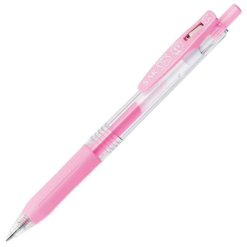 Zebra Sarasa Clip Gel ink ball point pen 0.5mm Milk Color 8 pen Set