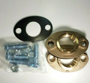 2-034-Lead-free-Brass-Water-Meter-Flange-Connection-Kit-For-2-034-Meter-w-Bolts-Gkts