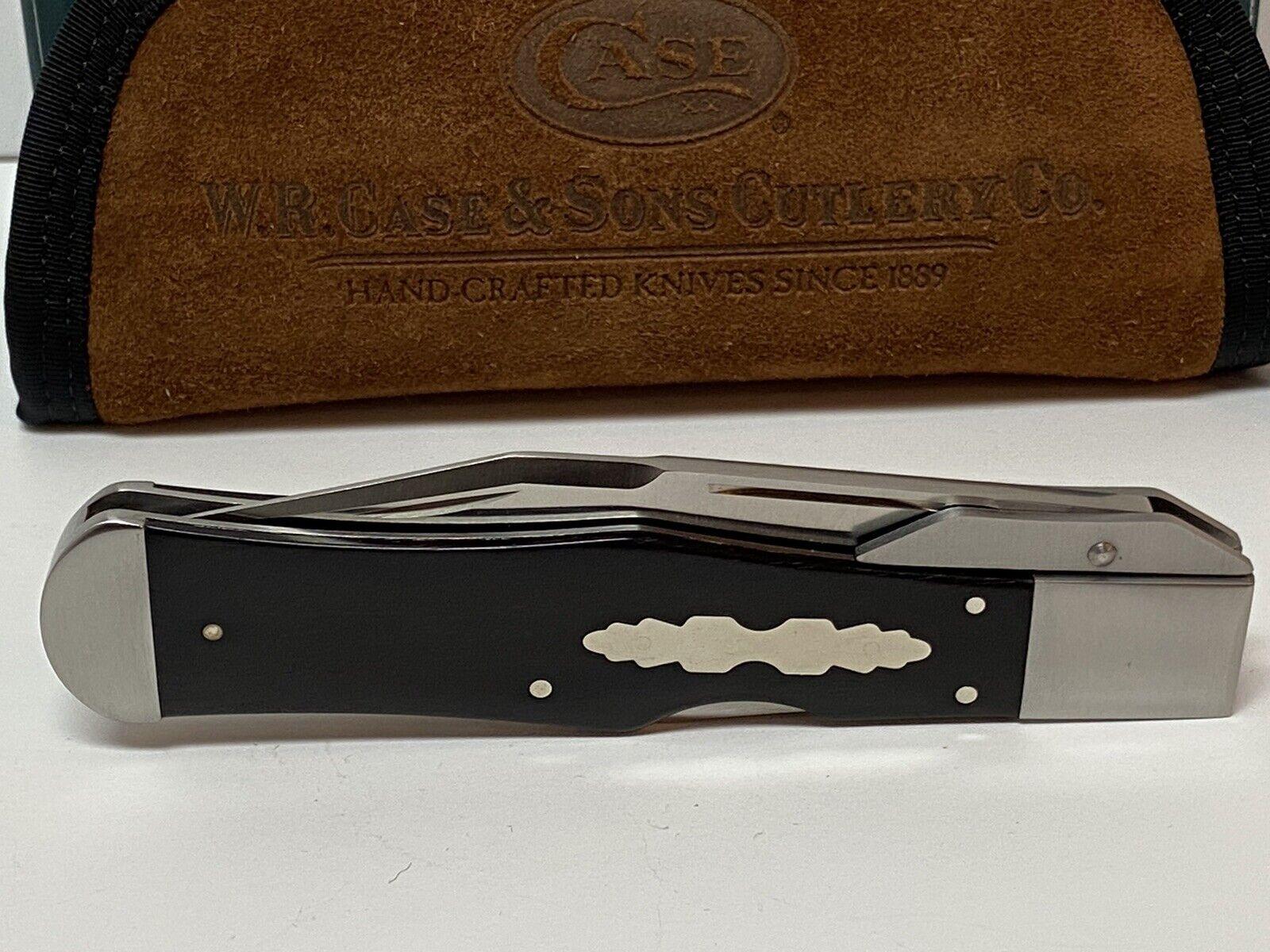 TONY BOSE CASE XX COKE BOTTLE EBONY WOOD ATS-34 STEEL TB712007 7157 KNIFE BD