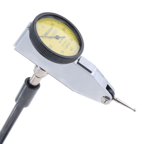 Dial Test Indicator Gauge and Magnetic Base Stand Holder 0.01mm
