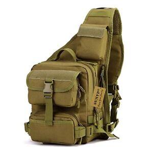Molle Tactical Military Laptop Briefcase Shoulder Bag Crossbody Sling Case