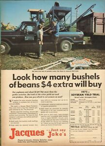 1975 small Print Ad of Big D Corn Seed Co The New Leader Catlin IL