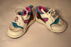 Details about Rare Vintage 1992 Nike Air Huarache Baby Infant Shoes Size 2C