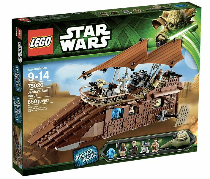LEGO® LEGO® LEGO® Star Wars 75020 Jabba's Sail Barge™ NEU NEW ddb82a
