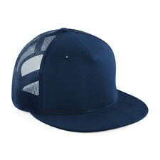 e835279611a Beechfield Signature 5 Panel Soft Feel Mesh Snapback Cap Fashion Wear Hat  BC845