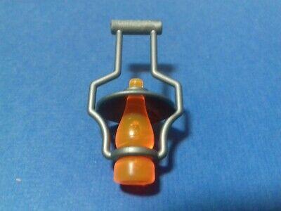 lanterne orange couvercle gris pour fort//ranch//maison PLAYMOBIL Western