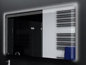 Badspiegel-mit-LED-Beleuchtung-Badezimmerspiegel-Bad-Spiegel-Wandspiegel-D122