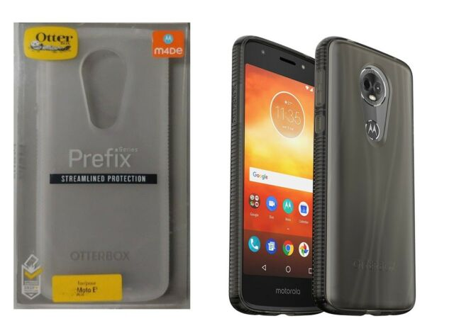 829b9afcaa72 Otterbox Prefix Series Streamlined protection Case for Moto E5 Plus Smokey  Clear
