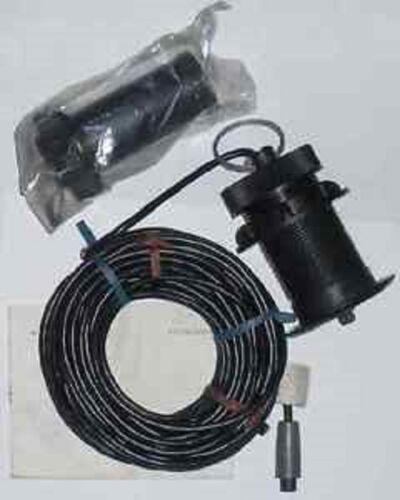Lowrance 40-92 ST-H Thru-Hull Speed Temp Sensor gray connector