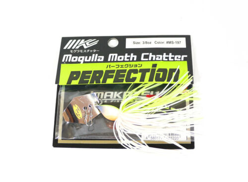 Imakatsu Mogulla Moth Chatter Perfection Super Blade Jig 3//8oz MS-197 5220