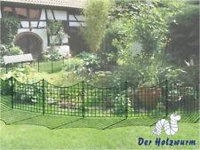 20x Teichzaun Oberbogen ANTHRAZIT Tiergehege Gartenzaun Zaun Garten Draht NEU
