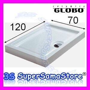 Globo Ceramica Piatti Doccia.3s Piatto Doccia Bagno Rettangolare Plano 120 X 70 Cm Ceramica
