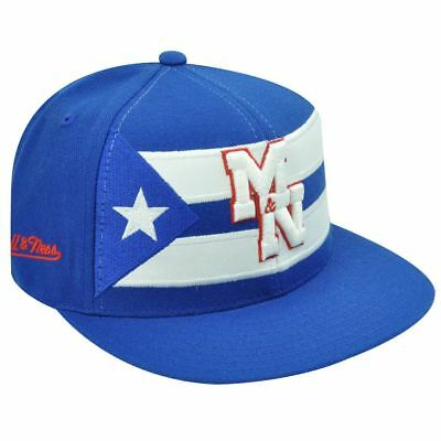 Cuba Passende Flache Bill Weißes Hut Mütze Mitchell Ness 7 1/8 Modischer In Stil;