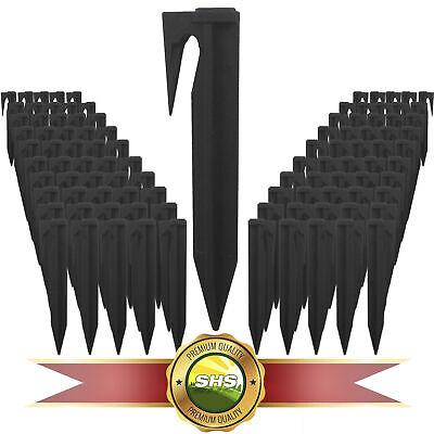 ✅100x Erdspieße Haken Nägel Erdnägel Mähroboter GARDENA R50li R40li Sileno R70li