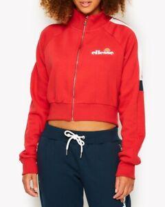 Ellesse-Womens-Track-Top-Jacket-Ribbon-Red-Alagna-Full-Zip-10-uk