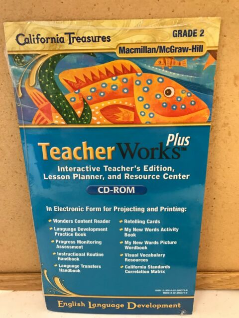California Treasures Grade 2 Teacher Works Plus Cd Rom Eld Ell 0022053719