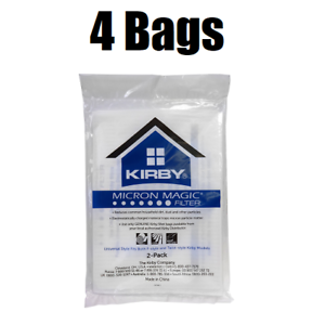 4-Kirby-Micron-Magic-Universal-Filtration-Vacuum-Bags-204811-205811-GENUINE