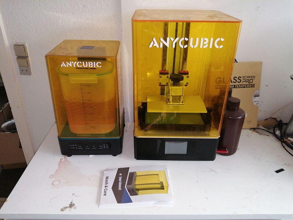 3D Printer, Any cubic, Mono X