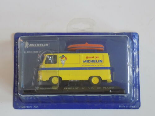 PEUGEOT J7 VAN MICHELIN TYRES PROMOTIONAL MODEL 1//43RD SCALE MINT PACKED /<**/>