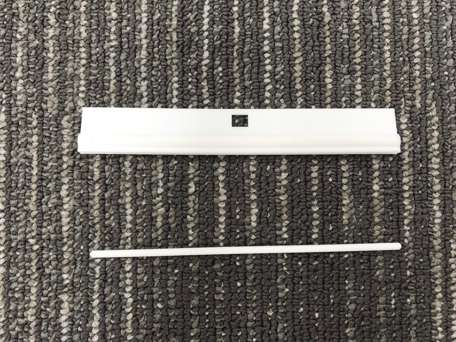 Vertical Blinds Replacement Slats Pack 8 X Slats Bottom