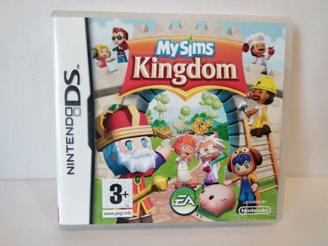 My Sims Kingdom Nintendo DS - PAL Français - Complet - Très bon état