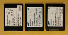 Samsung SanDisk 128gb Sata SSD 2.5 Hard Drives Lot 3