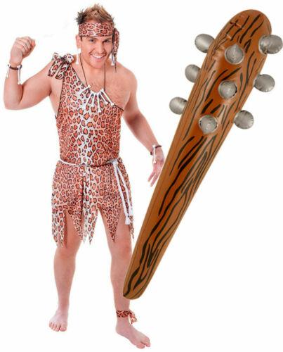 Caveman Jungle Tarzan Mens Fancy Dress Costume Outfit Inflatable Blow Up Club