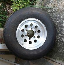 "15"" Aluminum Rim w/ 6 Hole Gladiator QR25-TS ST225/75R15 Tire-Gift"