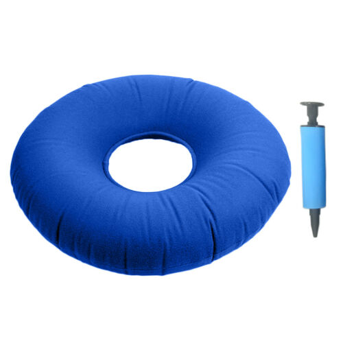 14 Inch Inflatable Donut Seat Cushion Bedsore Hemorrhoid Pain Relief #3