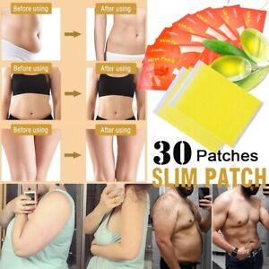 Slimming-Tragbar-Patches-Fettverbrennung-Gewichtsverlust-Aufkleber-mit-Navel