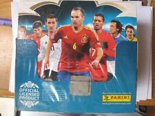 NEW PANINI Adrenalyn XL Euro 2012 Card box 50 Packs Poland Ukraine