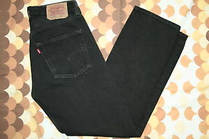 VINTAGE-LEVIS-501-DENIM-JEANS-ORIGINAL-GRADE-A-1-BLACK-ALL-COLOURS-SIZES-STOCKED