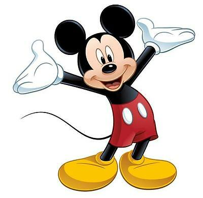 Mickey Mouse # 10 - 8 x 10 Tee Shirt Iron On Transfer