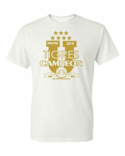 Tigres de la UANL FC soccer T-shirt,camiseta de campeon liga MX 2019,Soccer tee