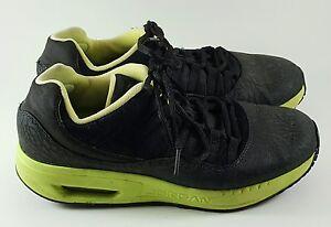 3df48a77f6fcdc Nike Air Jordan CMFT Viz Air 11 Athletic Black Green Shoes (Sz 6.5Y ...
