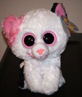 Ty Beanie Boos Muffin The 6 Cat (solid Eyes Version) Mint With Tags