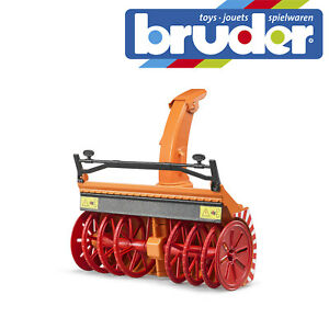 Bruder-Snowblower-Accessory-Snow-Winter-Childrens-Kids-Toy-Model-Scale-1-16