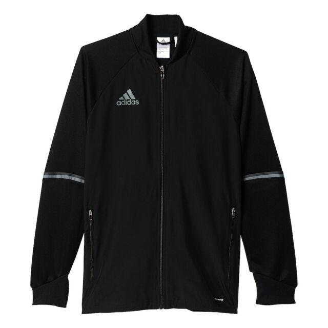 adidas Condivo 16 Trainingsjacke schwarz grau L S93552   eBay 616fc06729