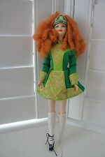 MATTEL FESTIVAL OF THE WORLD IRISH DANCE BARBIE DOLL IN BOX VGC