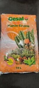 TERRICCIO PROFESSIONALE PER CACTUS, PIANTE GRASSE, cactacee  Cactea 10 LITRI
