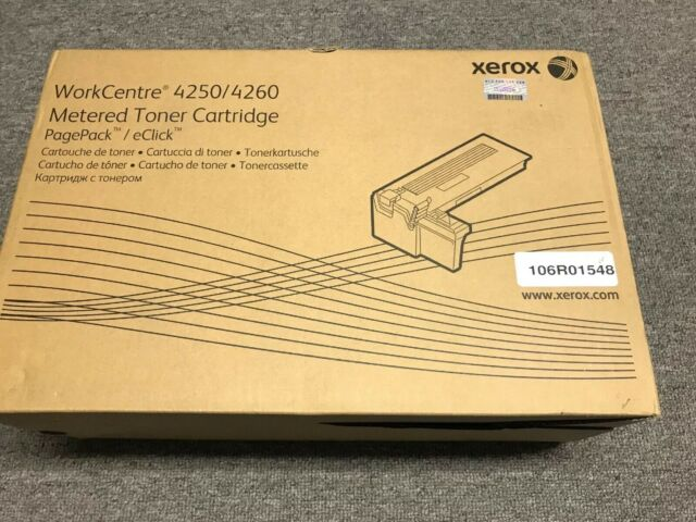 Xerox Genuine 106R01548 Black HIGH YIELD Toner WORKCENTRE 4250 4260 25K Pages