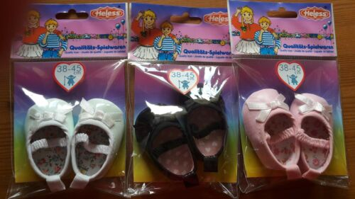 süße Puppenschuhe v Heless Puppengröße 38 bis 45 cm verschiedene Farben
