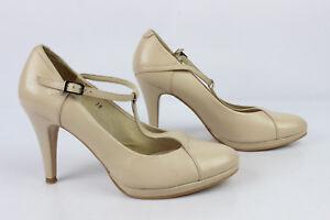Zapatos-Ahora-TEXTO-Cuero-Beis-T-38-MUY-BUEN-ESTADO