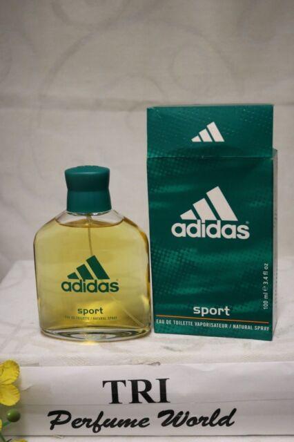 adidas Sport 3.4 Oz EDT Eau De Toilette Spray Men's Cologne 3.3 100ml