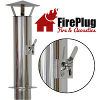 Chimney Flue With Cowl And Damper